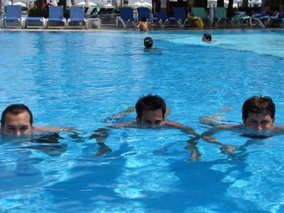 Команда КВН Станция Спортивная на отдыхе в Турции